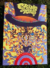 Primus Kansas City Willy Wonka Rainbow Speckle Foil Print by James Flames Signed