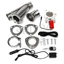 2.5'' Electric Exhaust Valve Catback Downpipe Cutout E-Cut Out System Kit Remote