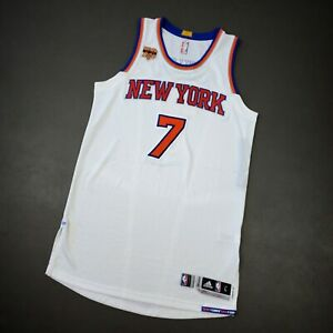 """100% Authentic Carmelo Anthony 2016 Knicks Game Jersey Size L+2"""" Mens"""