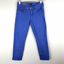J. Crew | Blue Matchstick Ankle Jeans Size 24