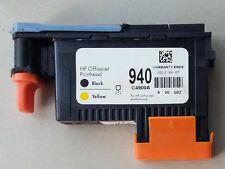 New 940 BLACK / YELLOW PRINTHEAD C4900A for HP OfficeJet Pro 8500 8000