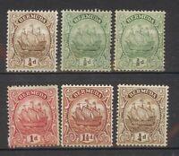 Lot Bermuda, 1910 - 1922, M/U, #1993
