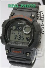 W-735H-8A Casio Sport Digital Watch 10-Year Battery Alarm 100m Chronograph