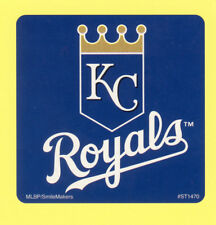 10 Kansas City Royals Logo - Large Stickers - Major League Baseball