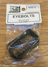 Tichy Train Group HO Scale #3037 Eyebolts