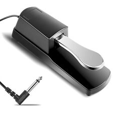 Sustain Pedals - Piano Sustaining Damper Pedal Universal Keyboard Electronic AU