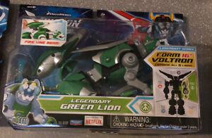 "DreamWorks Netflix Voltron Legendary Defender Green Lion 16"" Action Figure Toys"