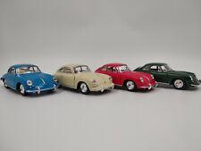 Porsche 356b Carrera 2 Beige environ 12 cm modèle de collection 1:32 article neuf de Kinsmart