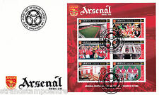 Arsenal FC - Premiership Football Commemorative Stamp Sheet from Grenada