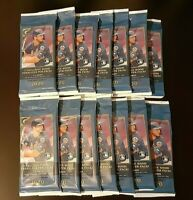 2020 Topps Gallery Baseball Lot (14) Sealed Cello Fat Pack with 2 Wood Parallels