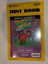 Space Quest V Factory Sealed Hint Book 1989 Sierra Roger Wilco Next Mutation