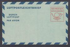 Germany H&G G8 mint. 1950 60pf Aerogramme, fresh