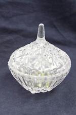 Fuji Premium Crystal Round Dish Nail Art Manicure Mini Liquid & Powder Jar