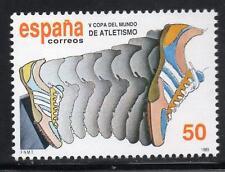 España estampillada sin montar o nunca montada 1989 SG3028 de la Copa Mundial de Atletismo