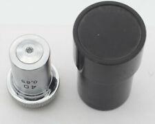 New Listingobjective 40 065 Ussr Microscope