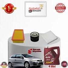 Kit Inspección Filtros + Aceite Fiat Stilo 1.6 16V 76KW 103CV de 2003 - >2008