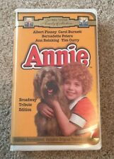 Annie (VHS, 1997, Broadway Tribute Edition Clam Shell)