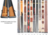 Snooker Case 3/4 Leather Premium Professional Quality O'Min Cues Case 10 Options