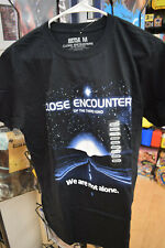 Close Encounters of the Third Kind Black Tshirt Licensed Tee Ripple Junction