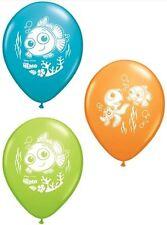 "6 pc 11"" Disney Finding Nemo Latex Balloon Party Decoration Happy Birthday"