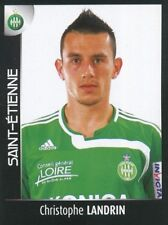 407 CHRISTOPHE LANDRIN AS.SAINT-ETIENNE ASSE STICKER FOOT 2008 PANINI