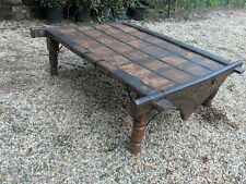 Beautiful & unique early 20th century antique Indian ox-cart coffee table