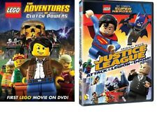 Lego 2 Pack: Adventures of Clutch Power & Attack of the Legion of Doom (DVD)