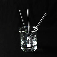 5X Glass Stirring Rods for Laboratory Lab Use Stir Bar Stirrer 5mm x 150mm/200mm