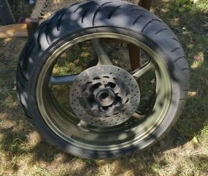 Rear Wheel - Yamaha FZ1 06-10 with tyre and disc