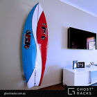 Surfboard Rack by Ghost Racks- NEW Vertical wall mounted for twin & quad fin