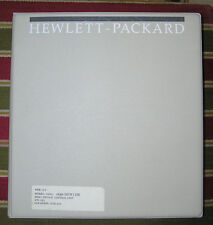 HP Model 3488A Service/Operating Programming Configuration Manual 03488-90002/12