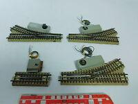AV826-1# 4x Märklin/Marklin H0/00/AC Weiche/Entkuppler M-Gleis für 3600/800
