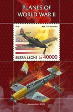Sierra Leone 2018 Planes of WWII  S201811