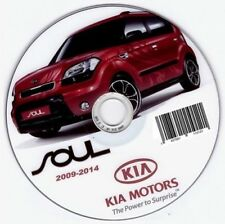 Kia Soul (2009-2014 manual de taller workshop manual