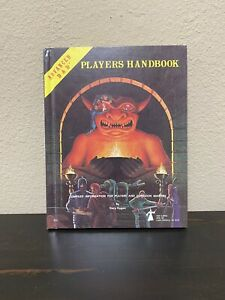 ADVANCED DUNGEONS AND DRAGONS PLAYERS HANDBOOK 1978 TSR ROLE-PLAY D & D