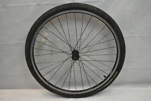 "WTB Dual Duty Front 26"" MTB Bike Wheel Black Freehub OLW100 32S AV QR US Charity"