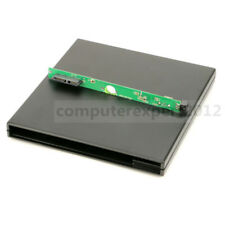 USB Super Slim External Case Enclosure For 9.5mm SATA Laptop DVD Blu-ray Drive