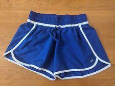 Champion Women's Blue / White Athletic Shorts size M Medium