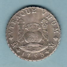 Mexico. 1753-MF 8 Reales - Pillar Dollar..  VF+