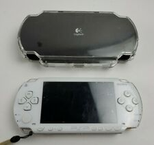 Sony PSP-1007 console Ceramic White Handheld system Japan ? Tested