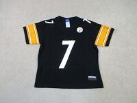 Reebok Ben Roethlisberger Pittsburgh Steelers Football Jersey Womans Small