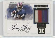 2017 Impeccable Elegance Retired Autos Silver /10 Thurman Thomas Patch Auto HOF