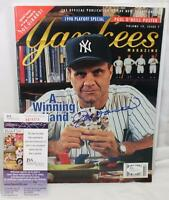 Joe Torre Signed Yankees Magazine 1998 Playoff Special Volume 19 Issue 7 JSA COA