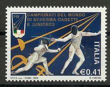 FECHT-WM/ Italien MiNr 2900 **