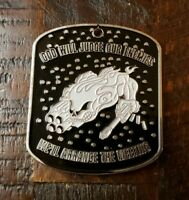 C 1/160th SOAR Airborne God Will Judge Our Enemies... Challenge Coin