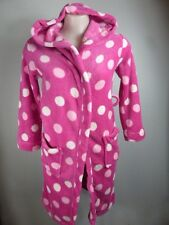 REDUCED!! pink ALLSORTS soft warm wrap pocket Hoodie Dressing gown sz 10