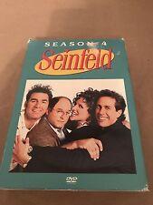 Seinfeld - Season 4 (DVD, 2005, 4-Disc Set)