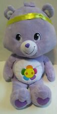 "2008 Play Along TCFC Care Bears Harmony Bear Large 24"" Tall Collectible Plush XL"
