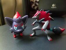 100% Authentic New Glossy Takara Tomy Pokemon Zorua Zoroark Figure Lot US Seller
