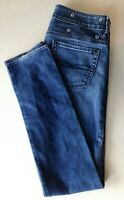 Buffalo David Bitton Women's Skinny Leg Low Rise Denim Blue Jeans Size 28
